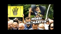 Des milliers des frères musulmans prient pour Mohammed Morsi en Turquie