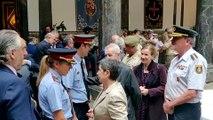 Los dos nuevos jefes de Mossos asisten al Día de la Inspección General del Ej�