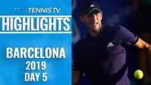 Thiem Sets Nadal Clash; Medvedev To Face Nishikori | Barcelona Open 2019 Quarter-Final Highlights
