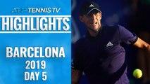 Thiem Sets Nadal Clash; Medvedev To Face Nishikori   Barcelona Open 2019 Quarter-Final Highlights