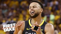 Steph Curry punched a wall, felt guilty about Klay, KD's injuries - Marc Spears - First Take