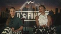 Jessica Alba y Gabrielle Union, presentan 'L.A.'s Finest'