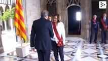 Manuel Valls denies Quim Torra a handshake