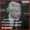 Libra: Bruno Le Maire met en garde Facebook et refuse l'idée d'une «monnaie souveraine»