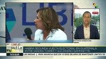 Guatemala: Sandra Torres y Alejandro Giammattei a segunda vuelta