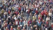 Pensionistas vascos pedirán en Madrid respuesta a sus demandas