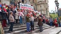 Pensionistas vascos llevarán a Madrid sus reivindicaciones