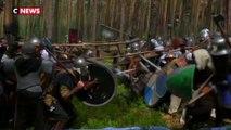 Reconstitution d'une bataille du «Hobbit» en République tchèque
