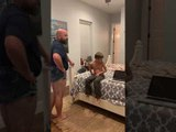 Dad Wears Short Shorts to Prove a Point to His Teen Daughter