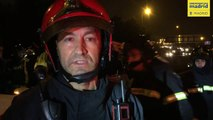 Bomberos y SAMUR explican intervención en accidente