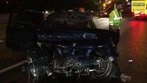 Un muerto y 8 heridos en un accidente entre un turismo y un taxi