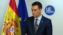 Sánchez dice que hablará de servicios públicos si Torra habla de autodeterminación