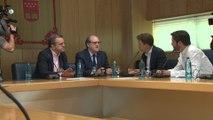 Gabilondo y Errejón se reúnen en la Asamblea de Madrid