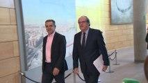 Ángel Gabilondo acude a la reunión con Íñigo Errejón