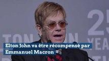 Emmanuel Macron va remettre la Légion d'honneur à Elton John