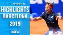 Nadal Defeats Ferrer; Thiem,  Nishikori Progress | Barcelona Open 2019 Day 4 Highlights