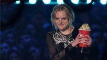 "Elisabeth Moss Wins ""Best Performance In A Show"" At MTV Movie And TV Awards"