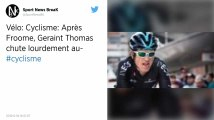 Cyclisme : Geraint Thomas chute sur le Tour de Suisse, son Tour de France compromis?