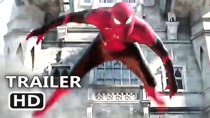 "SPIDER-MAN FAR FROM HOME ""Superhero Landing"" Trailer"
