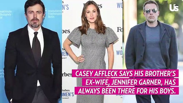Casey Affleck Says Jennifer Garner Is a 'Perfect Aunt' to His Sons: 'She Never Forgets a Birthday'