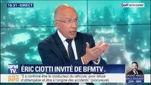 """Eric Ciotti: """"Quand un étranger agresse un policier, il n'a plus rien à faire en France"""""""