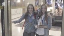 España Sub-17  de fútbol celebra el primer mundial femenino