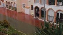 Cortados los accesos principales a Torrevieja por las lluvias