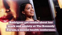 "Gina Rodriguez opened up about her history with depression and why she needed to stop filming ""Jane the Virgin"""