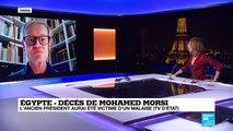 Egypte : Décès de Mohamed Morsi, victime d'un malaise au tribunal