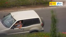 Burradas al volante a vista de dron