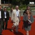 Michael Douglas est arrivé au Festival télé de Monte-Carlo