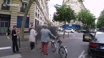Un automobiliste  frappe un malvoyant qui vouylait traverser
