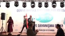"""Çavuşoğlu: """"Türkiye kadar mazlumların sesi olan başka bir ülke yok"""" - İSTANBUL"""