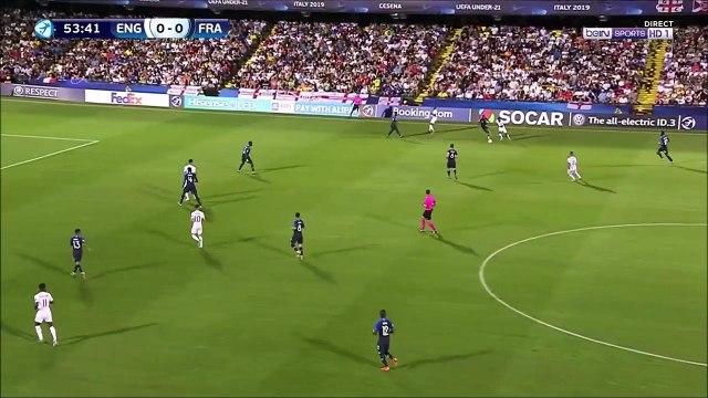 England U21 1-0 France U21 - Foden great solo goal
