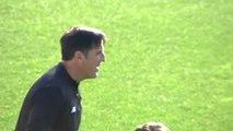 Mikel Rico, ausente en el entrenamiento del Athletic