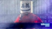Marshmello Collaborations Include Kane Brown & Cardi B | Billboard News