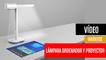 [CH] Lumi, la lámpara de mesa que es ordenador y proyector táctil