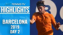 Jarry Upsets Zverev; Thiem, Tsitsipas Safely Through | Barcelona Open 2019 Highlights Day 2
