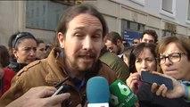 """Pablo Iglesias: """"La gente está harta de ver la imagen que estamos dando en los medios"""""""