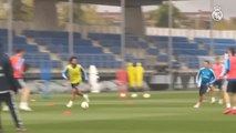 El Real Madrid prepara el próximo partido contra el Leganés