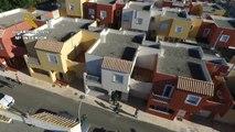 Detenidos cuatro narcos que habían montado una plantación de marihuana en tres viviendas de Vícar muy cerca de un colegio