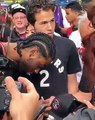 Kawhi Leonard lookalike pranked several fans at the Raptors' championship parade, taking selfies with many of them