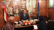 نائب محافظ أسوان يستمع لمطالب 50 مواطنا خلال اللقاء الجماهيرى