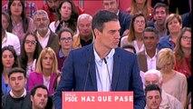 """Sánchez: """"La independencia de Cataluña no se va a producir porque los catalanes no la quieren"""""""