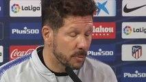 """Simeone: """"En todos los equipos importantes hay lesiones"""""""