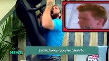 Smartphones superam televisão