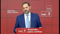 """Abalos: """"El Gobierno de Pedro Sánchez tiene como objetivo agotar la legislatura"""""""