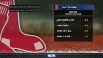 Red Sox Have Pitched Four Shutouts This Season