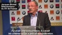 XV de France: Brunel se passe de Bastareaud