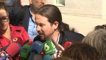 """Iglesias denuncia """"una trama"""" de policías, medios y empresarios"""